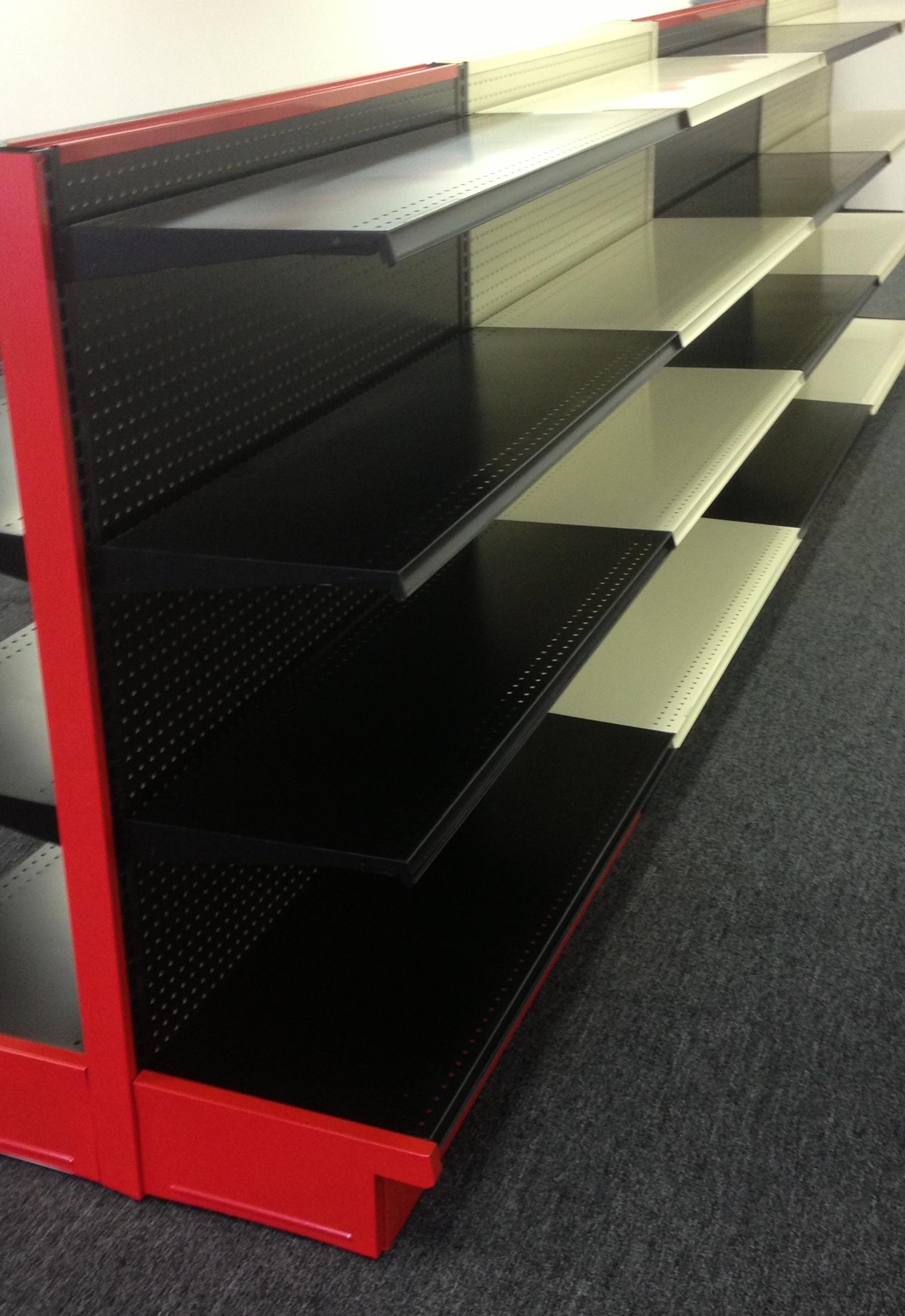 Gondola Shelving Tx Store Fixtures